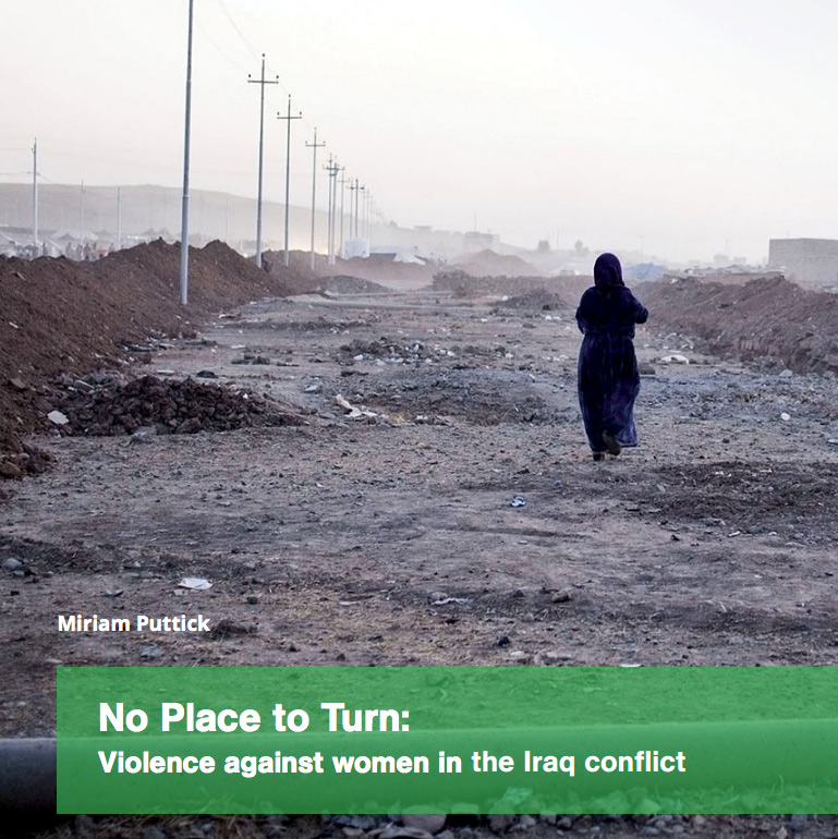 No Place to Turn: Violence against women in the Iraq conflict