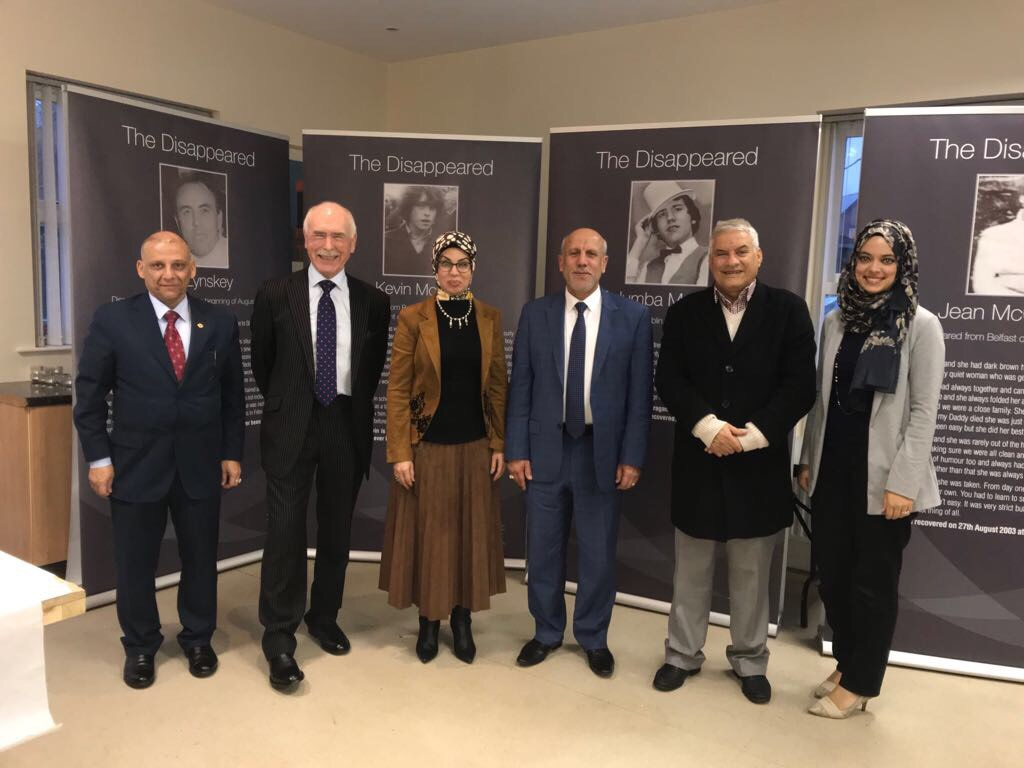 Ending enforced disappearance: from Baghdad to Belfast