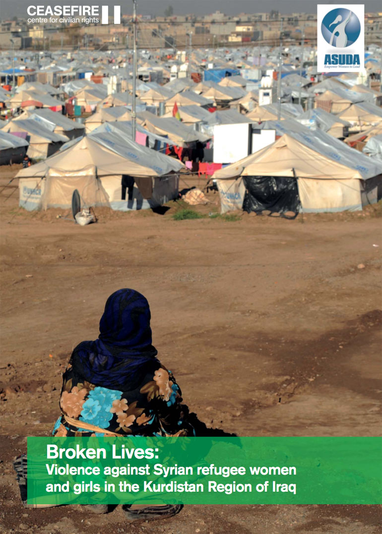 Syrian refugee women and girls facing gender-based violence in Iraq's Kurdistan region – new report