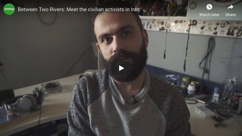 Meet the civilian activists from Iraq