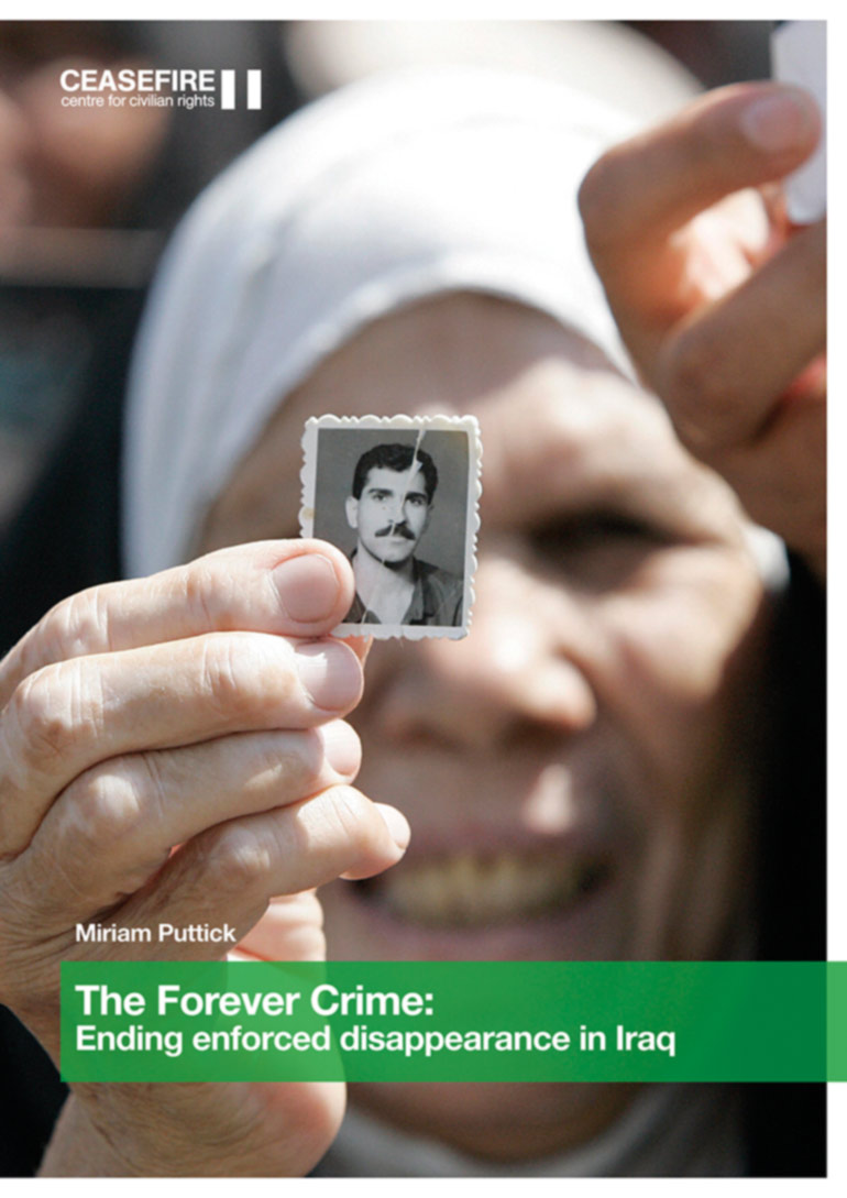 After decades of disappearances, Iraq preparing to turn the page – new report