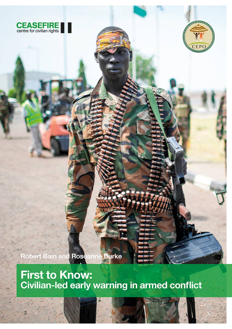 First to Know: promoting civilian-led early warning in armed conflict – new report